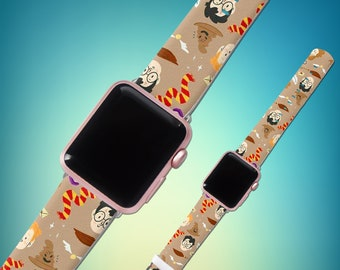 Apple Watch Harry Potter iWatch band Apple Watch 38mm iWatch strap iWatch Band Potter iWatch 42mm Leather band WatchBand Watch strap 42mm