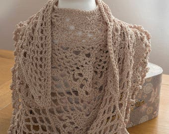 Sarah Scarf PDF crochet pattern