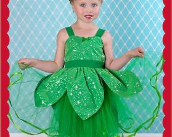 Tinkerbell costume, Halloween Costume, Tinkerbell tutu, Fairy costume, Tinkerbell party dress, girls costume