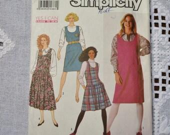 Simplicité couture patron 9766 Misses cavalier 10 12 14 mode vêtements couture BRICOLAGE PanchosPorch