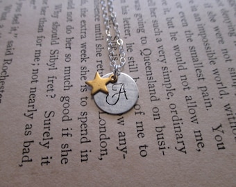 The Alma Necklace - Sterling Silver Custom Initial Necklace