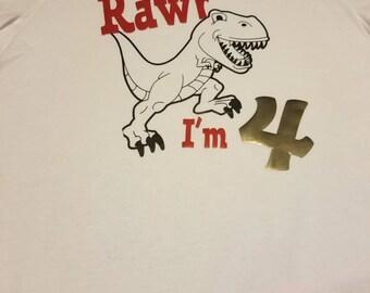 Rawr I'm 4