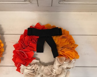 Fall wreath 8""