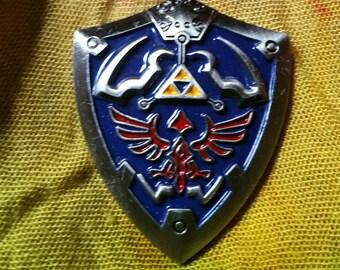Official Legend of Zelda Hylian Shield Enamel Hat or Lapel Pin