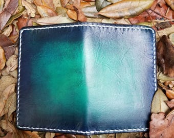 Handmade Leather Mid Wallet, Card Wallet, Bi-Fold Wallet, Leather Wallet