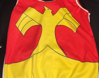 Vintage Wonder Woman Underoos Top size M (7-10) Kids