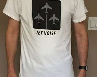 Aviation Korean War jet fighter F-86 Sabre t-shirt