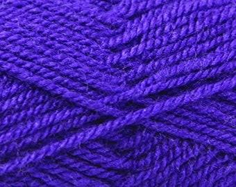 Purple (236) King Cole Pricewise DK Double Knit Yarn Knitting