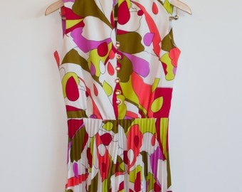 70's Psychedelic Dress