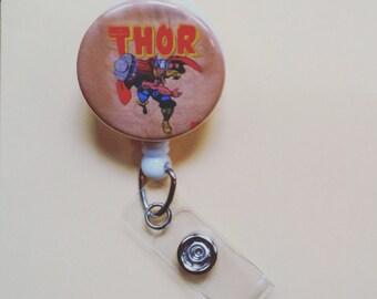 Thor Button badge Reel