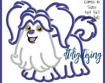 1 dollar on website Vampirina Wolfie Dog Embroidery Design 4x4 5x7 6x10 7x10 8x10 9 formats-Applique Instant Download-DTDigitizing Vampire
