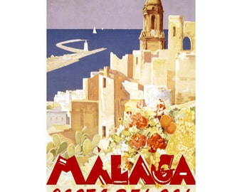 MALAGA 2s- Handmade Leather Journal / Sketchbook - Travel Art