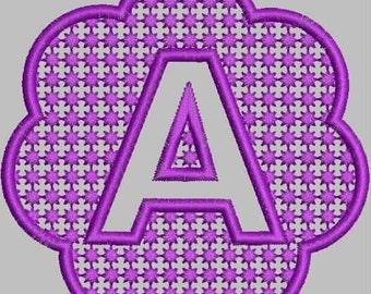 Emboss Me -- Embroidery Alphabet Monogram Designs