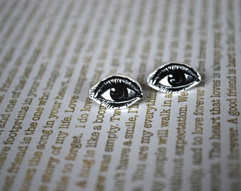 Eye Earrings -- Earrings for Optometrist, Eye Balls, Detailed Eyes, Optometrist, Nurse Earrings
