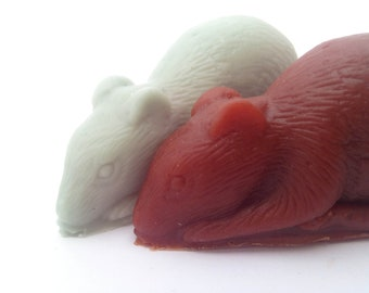 Pair of Rat soaps