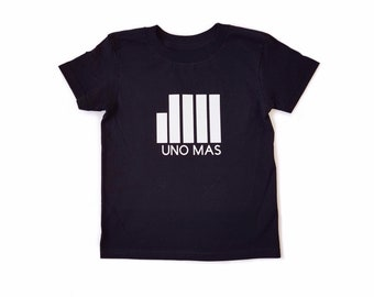 MiBaby Urban T-Shirts - UNA MAS - Black