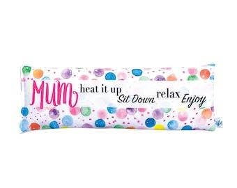 Watercolour Confetti Spots Personalised Heat Pack