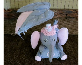 Elephant ornament etsy quick view baby shower gift baby elephant decor negle Gallery