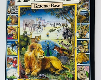 "1987 ""Animalia"" - Graeme Base - Excellent Used Condition"