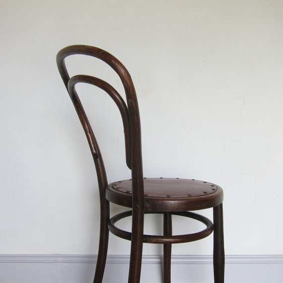 Bentwood Chair Thornet 1920s Bistro Seat