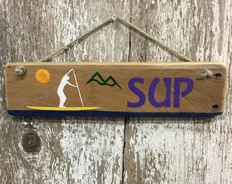 Paddleboarding Sign SUP Sign Stand Up Paddle board Sign Stand Up Paddle boarding Sign Paddle Board Gifts Paddle Boarder Beach Sign Beach Hou