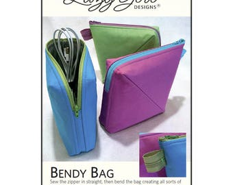 Bendy Bag Pattern by Joan Hawley of Lazy Girl Designs