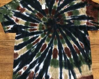 Men's Camo Tie Dye Shirt