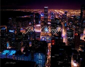 Chicago City Lights-8x10