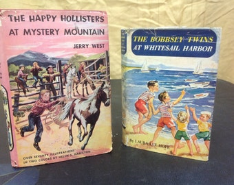 Happy Hollister/The Bobbsey Twins Vintage Kids Books