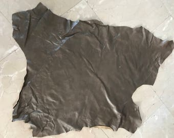 Real Leather,sheep skin,soft, full size ,Hakky color