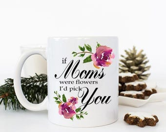 Mommy Gift from Daughter, Mother Daughter gift, Gift for Mom mug I'd Pick You Mug, From all of us Mom Gifts from Kids, Thinking of you gifts