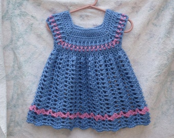 Powder Toddler Girls Dress CROCHET PATTERN