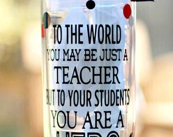 Personalized teacher Tumbler, Teacher appreciation gift, End of year teacher gift, Teacher Cup, Teacher appreciation gift,  Teacher Tumbler