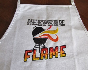 Barbeque Apron - Embroidered