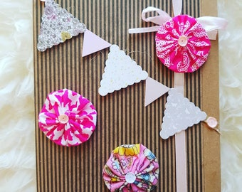 Mother's Day Pompom Card