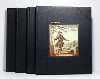 Nautical Books, Time Life Books, The Seafarers Series, Partial Set of 4 Hardcover Volumes, Pirate Ships, Nautical History, Well Illustrated