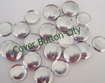 Flat Backs - 100 Cover Buttons Size 20 (1/2 inch)