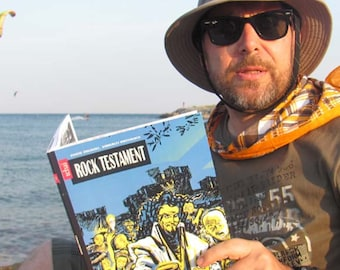 Rock Testament - comic book for grown ups with a twist great Toronto comic artist