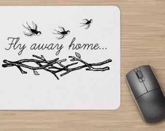 Fly Away Home Computer Mousepad