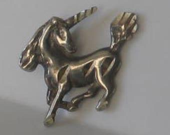 SALE Vintage Sterling Unicorn Charm