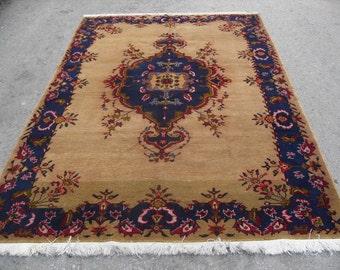 70'' X 104'' rug kilim free shipping VINTAGE TURKİSH ousak rug Anatolian handwoven kilim rug decorative kilim