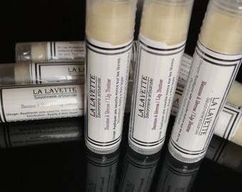 Cocoa and Peppermint lip balm