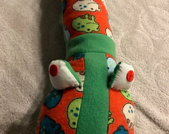 Frogs Baby Pillow Snake