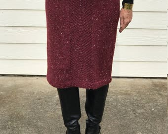 Songwe Skirt with Topper Knitting Instructions PDF