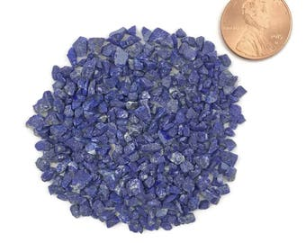 Crushed, Grade A, Lapis Lazuli Stone Inlay, Coarse, 1/2 Ounce