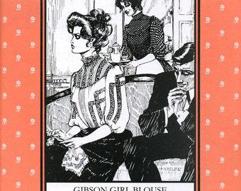 Gibson Girl Blouse, Folkwear Pattern 205