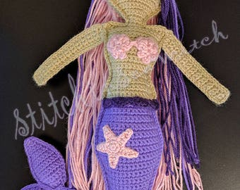 Rag-doll Mermaid