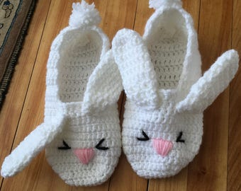 Chaussons lapin!