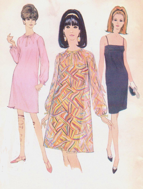 década de 1960 las mujeres vestido o vestido y tienda ropa solía ...