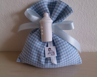 Set of 20 bags Checked-wedding favors